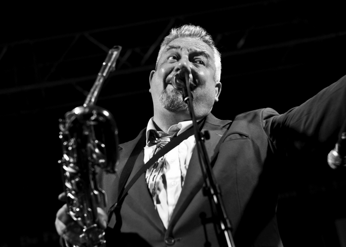 King Pleasure and The Biscuit Boys Preform At The World Cycling Revival Festival